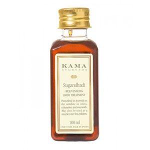 Buy Kama Ayurveda Sugandhadi Rejuvenating Body Treatment Oil - Nykaa