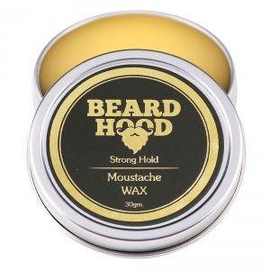 Buy Beardhood Moustache Wax Strong Hold - Nykaa