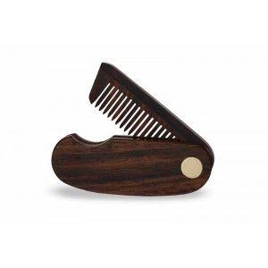 Buy Beardhood Folding Pocket Beard Comb - Nykaa