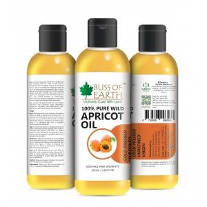 Buy Bliss Of Earth Apricot Oil - Nykaa