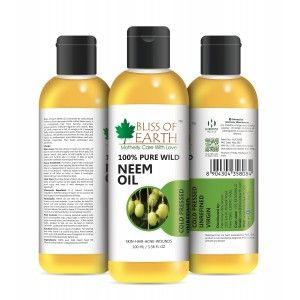 Buy Bliss Of Earth Neem Oil - Nykaa
