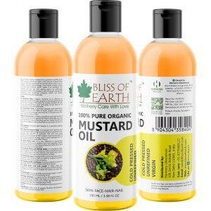 Buy Bliss Of Earth Mustard Oil - Nykaa