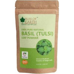 Buy Bliss Of Earth Tulsi Leave Powder - Nykaa