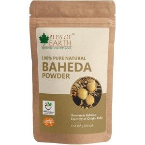 Buy Bliss Of Earth Baheda Powder - Nykaa