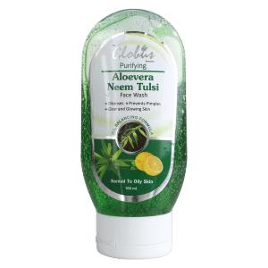 Buy Globus Remedies Aloe Vera Neem Tulsi Face Wash - Nykaa