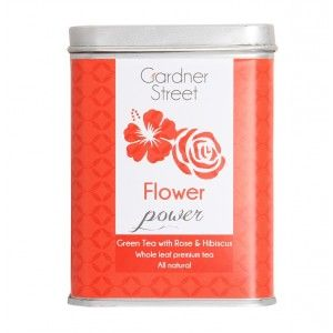 Buy Gardner Street Flower Power Whole Leaf Green Tea Bags - Nykaa