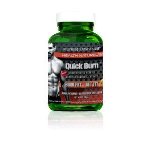 Buy Health Naturel's Quick Burn Plus Herbal Fat Burner 500mg 60 Capsules - Nykaa