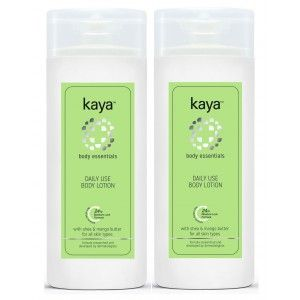 Buy Kaya Body Essentials Daily Use Body Lotion (Pack Of 2) - Nykaa