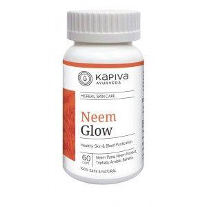 Buy Kapiva Ayurveda Neem Glow 60 Capsules - Nykaa