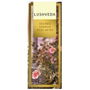 Buy Lushveda Organic Kannuaj Rose Water - Nykaa