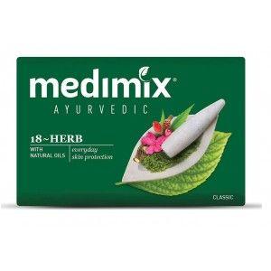 Buy Medimix Classic Ayurvedic 18 Herb Soap - Nykaa
