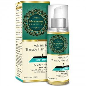 Buy Morpheme Remedies Advanced Therapy Hair Oil - Nykaa