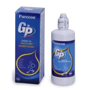 Buy Purecon Gas Permeable Lenses Care Solution For Hard & RGP Contact Lenses (140ml) - Nykaa