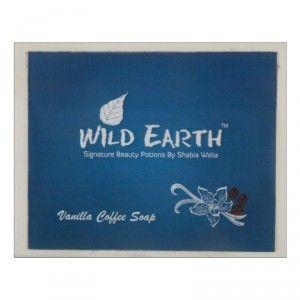 Buy Wild Earth Vanilla Coffee Loofah Soap - Nykaa
