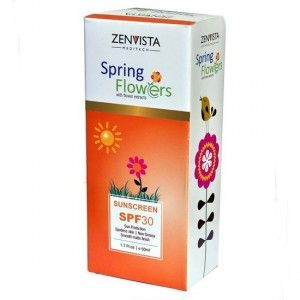 Buy Zenvista Spring Flower Sunscreen With SPF 30 - Nykaa