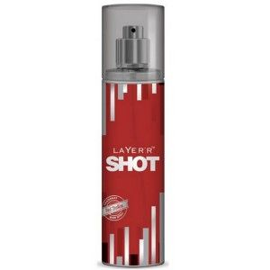 Buy Layer'r Shot Red Stallion Body Mist - Nykaa