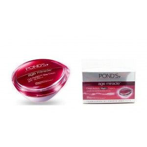 Buy Ponds Age Miracle Daily Resurfacing Cream + Ponds Age Miracle Night Cream  - Nykaa