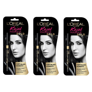 Buy L'Oreal Paris Kajal Magique Bold (Pack of 3) - Nykaa