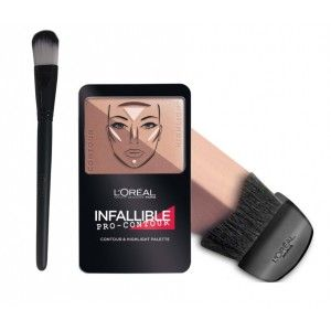 Buy L'Oreal Paris Infallible Pro Contour Palette - 815 Deep + Free Makeup Brush - Nykaa
