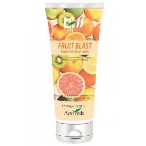 Buy Lass Naturals Fruit Blast Soap Free Face Wash - Nykaa