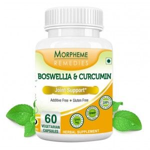 Buy Morpheme Remedies Boswellia & Curcumin For Joint Support - 500mg Extract - Nykaa