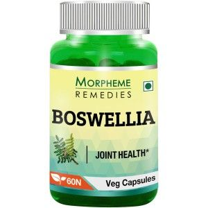 Buy Morpheme Remedies Boswellia (Shallaki) Capsules for Joints Support - 500mg Extract - Nykaa