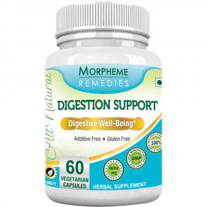 Buy Morpheme Remedies Digestion Support Supplements For Digestive Well Being - 600mg Extract - Nykaa