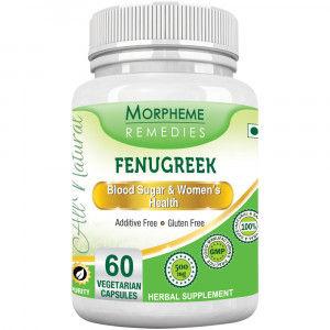 Buy Morpheme Remedies Fenugreek Capsules For Glucose Balance & Women's Health - 500mg Extract - Nykaa