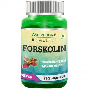 Buy Morpheme Remedies Forskolin - Pure Coleus Forskohlii For Weight Loss & Energy - 500mg Extract - Nykaa