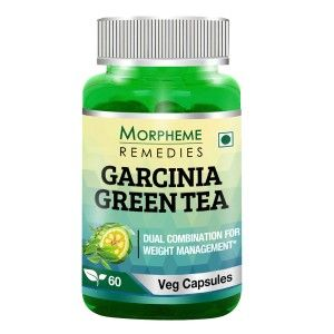 Buy Morpheme Remedies Garcinia Cambogia Green Tea - Fat Burner Supplements - 500mg Extract - Nykaa