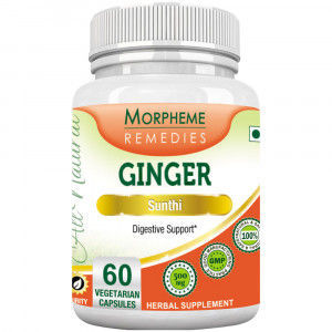 Buy Morpheme Remediess Ginger Capsules For Digestive Support - 500mg Extract - Nykaa