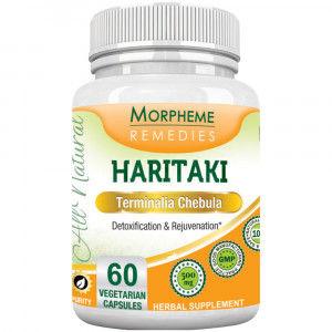 Buy Morpheme Remediess Haritaki Capsules - Detoxification & Rejuvenation - 500mg Extract - Nykaa