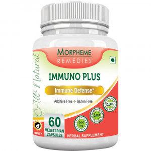 Buy Morpheme Remediess Immuno Plus For Immune Defense - 500mg Extract - Nykaa