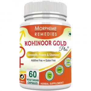 Buy Morpheme Remediess Kohinoor Gold Plus For Male Libido - 500mg Extract - Nykaa