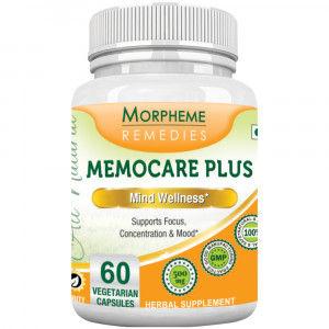 Buy Morpheme Remedies Memocare Plus For Mental Alertness - 500mg Extract - Nykaa