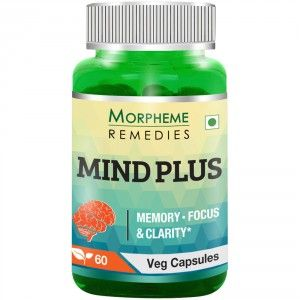Buy Morpheme Remedies Mind-Plus Capsules For Mental Alertness - 500mg Extract - Nykaa