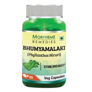 Buy Morpheme Remedies Phyllanthus Niruri (Bhumyamlaki) Chanca Piedra - Stone Breaker - 500mg Extract - Nykaa
