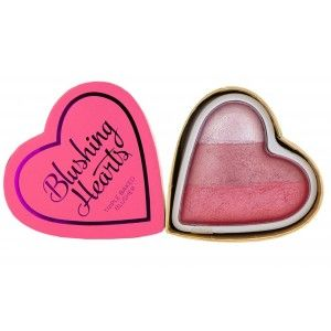 Buy Makeup Revolution I Heart Makeup Blushing Heart Triple Baked Blusher - Nykaa