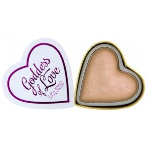 Buy Makeup Revolution I Heart Makeup Blushing Heart Triple Baked Highlighter - Nykaa