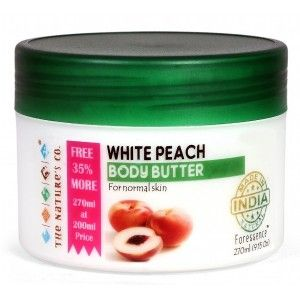 Buy The Nature's Co. White Peach Body Butter - Nykaa