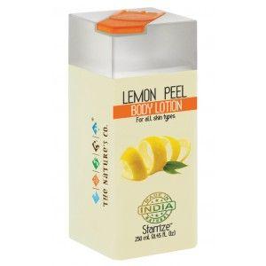 Buy The Nature's Co. Lemon Peel Body Lotion - Nykaa