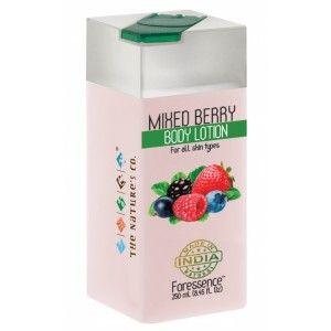Buy The Nature's Co. Mixed Berry Body Lotion - Nykaa