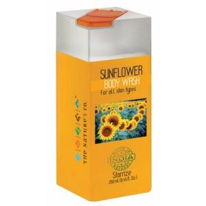 Buy The Nature's Co. Sunflower Body Wash - Nykaa