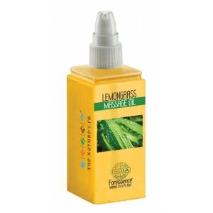 Buy The Nature's Co. Lemongrass Massage Oil - Nykaa