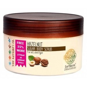 Buy The Nature's Co. Hazelnut Sugar Body Scrub - Nykaa