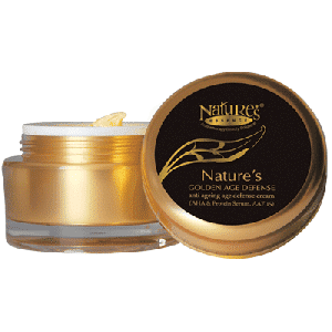 Buy Nature's Essence Gold Anti Ageing Age Defense Cream - Nykaa