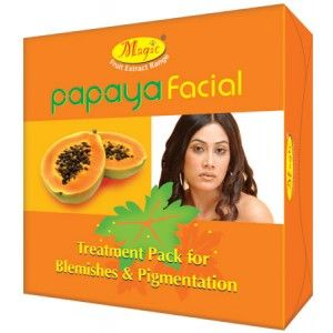Buy Natures Essence Papaya Facial Kit Mini Free Face Wash Worth Rs.75 - Nykaa