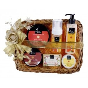 Buy Natural Bath & Body Joyful Baskets - 4 - Nykaa