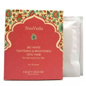 Buy NeoVeda Bio White Tightening And Brightening Cryo Mask - Nykaa