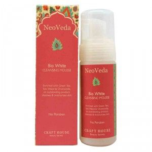 Buy NeoVeda Bio White Cleansing Mousse - Nykaa